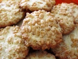 dolci con riso soffiato - biscotti