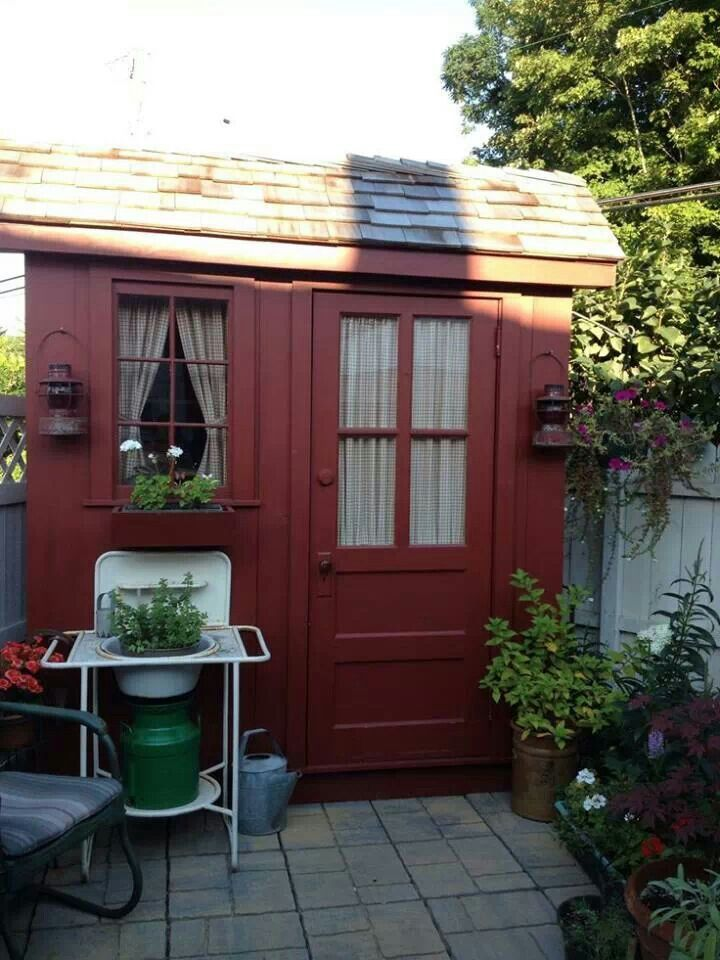 1000 Images About Greenhouses Amp Garden Sheds On Pinterest