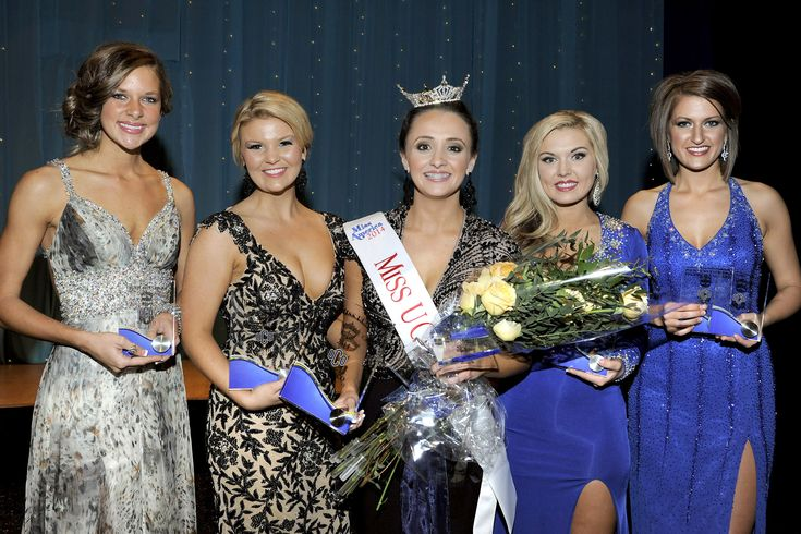 "Miss UCO 2013, Allora Herrin, crowns freshman biology major and Bethany, Okla., native Olivia Cavazos as Miss UCO 2014 on Friday, Nov. 8, 2013. Cavazos is a 2013 graduate of Putnam City West High School and an accomplished Irish step dancer. Her platform is ""Education Through Music."" Cavazos will receive a $2100 UCO tuition waiver, a $500 cash scholarship and compete for the title of Miss Oklahoma in June 2014."