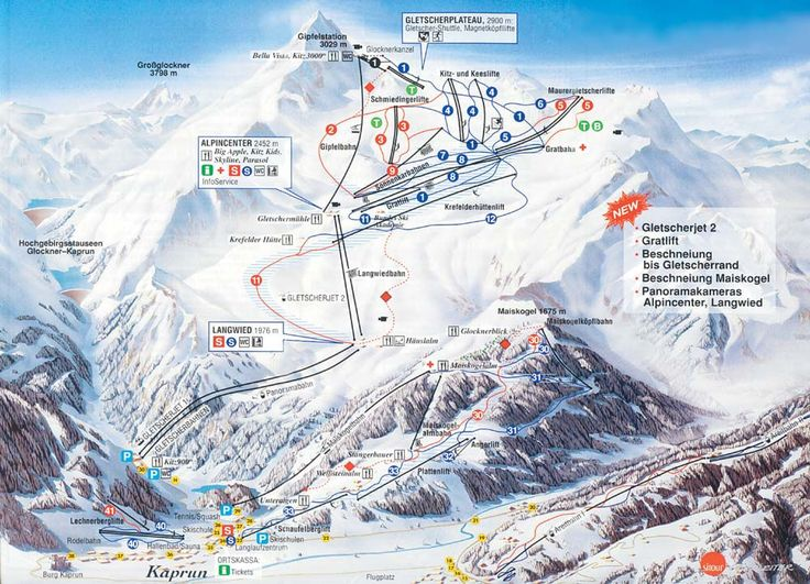 Wintersport Kaprun - Skigebied Kaprun