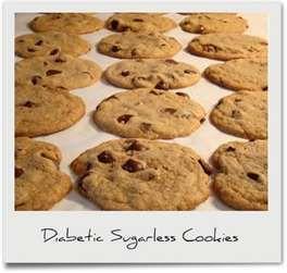 Diabetic Recipes: Diabetic Sugarless Cookies: Chocolates Chips, Diabetes Food, Diabetes Sugarless, Diabetic Recipes, Sugarless Cookies, Diabetes Friends, Oatmeal Raisin Cookies, Diabetes Recipe, Sugar Free