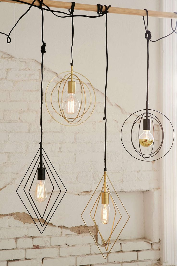 Wyatt Circle Pendant - $49.99 on sale | UrbanOutfitters.com: Awesome stuff for you & your space