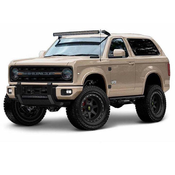 Full size Bronco concept.
