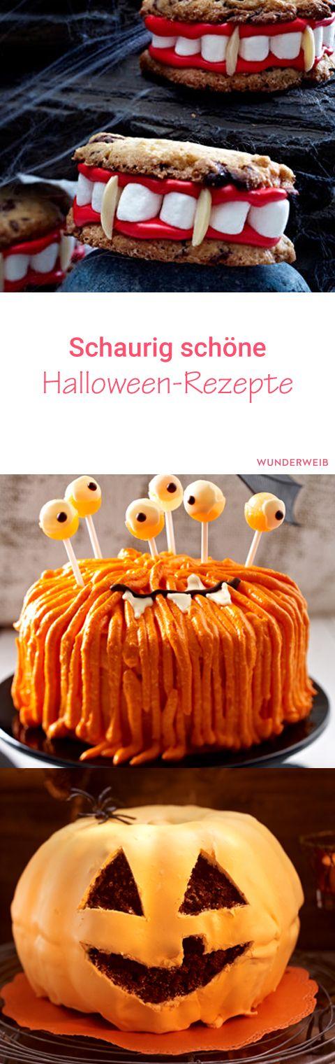Sehen gruselige aus, schmecken aber klasse: unsere Halloween-Rezepte.