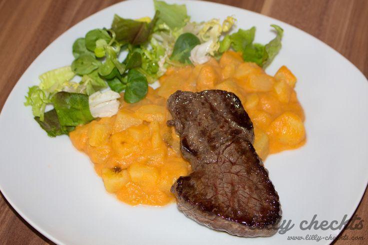 #Rindersteak #italienisch #Kartoffelsalat #lecker #food