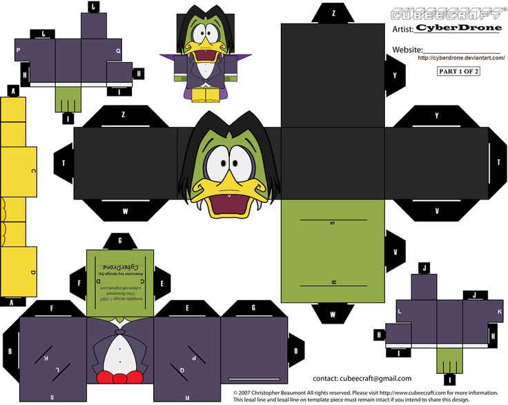 Cubee - Count Duckula '1of2' by CyberDrone on deviantART