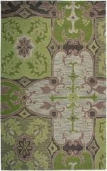 The hand-tufted New Zealand wool blend is constructed of a full loop pile that has a distinctive, hand-hooked appearance, completely in keeping with the informal beauty of classic country decor.http://www.overstock.com/Home-Garden/Hand-tufted-Country-Green-Rug-8-x-10/6514177/product.html?CID=214117 $550.99