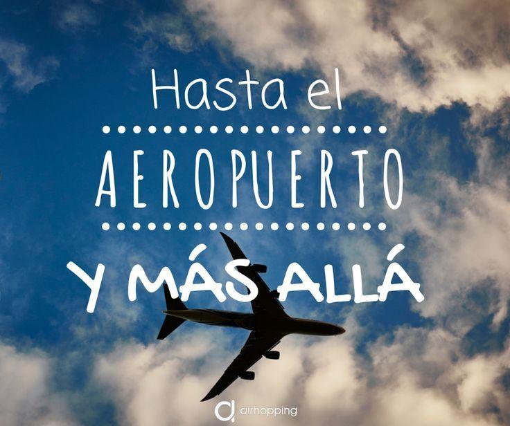 ¡Hasta el aeropuerto y más allá! #Magaly12323