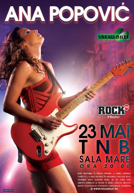 Luni, 23 Mai 2016, ora 20:00, Teatrul National - Sala Mare, Bucuresti