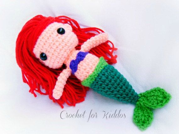 1000+ images about Crochet - Mermaids ! on Pinterest ...