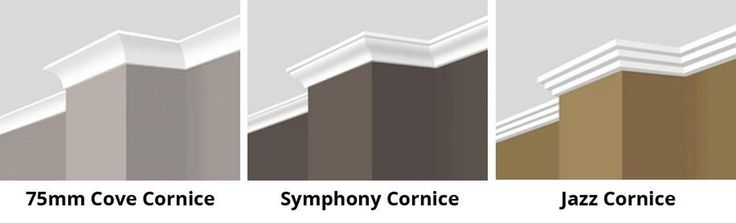Cornices are designed to provide an attractive finish at