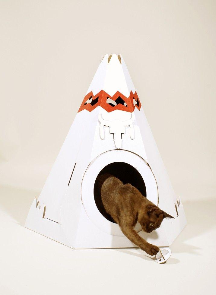 Ta.Ta. Unconventional Design For Kids/// tenda per gatto