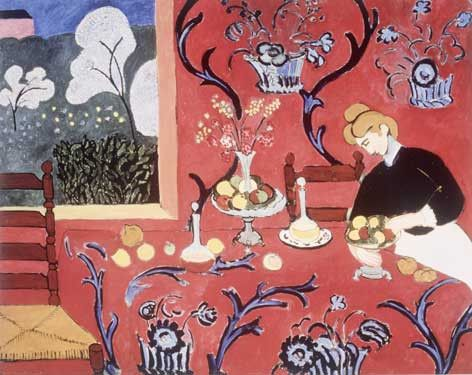 Harmonie Rouge by Henri Matisse Fine Art Print