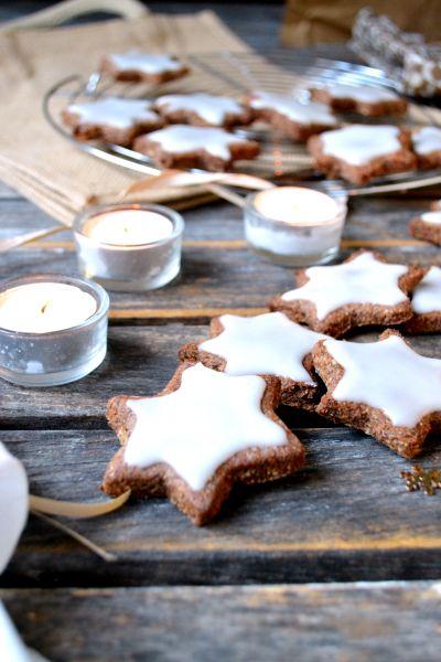 Zimtsterne – Étoiles à la Cannelle #vegan #sansgluten | Green Cuisine