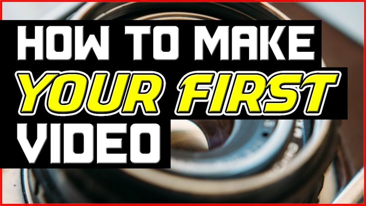 If you'd like to learn how to make your first Youtube video then watch my tutorial right here: https://www.youtube.com/watch?v=3w4EgFJiIAQ