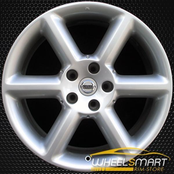 18 Nissan 350z Oem Wheel 2003 2005 Silver Alloy Stock Rim 62417 Nissan 350z Oem Wheels Nissan