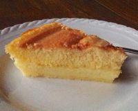Creamy Brazilian Cornbread Pudding - Bolo de Fuba Cremoso