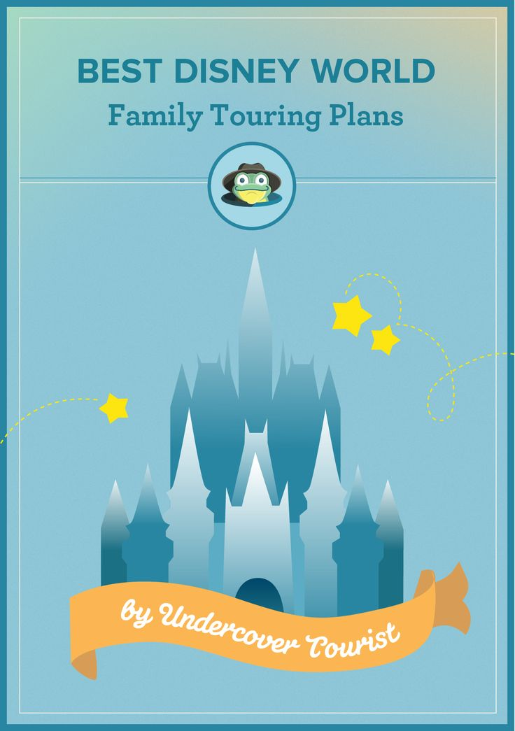 The best Disney World family touring plans from Undercover Tourist. It's the smartest ways to reduce your wait times because Undercover Tourist has prioritized the rides and shows so that you visit the most popular attractions with the shortest waits when crowds are low.