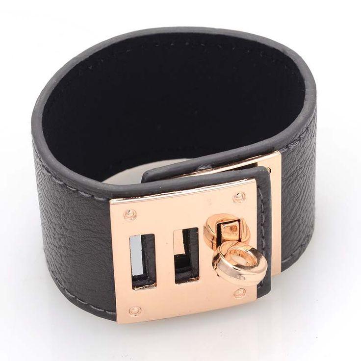 H браслеты новый бренд застежка браслеты с matel замок браслет, регулируемая застежка запястье, запястья браслеты B1472