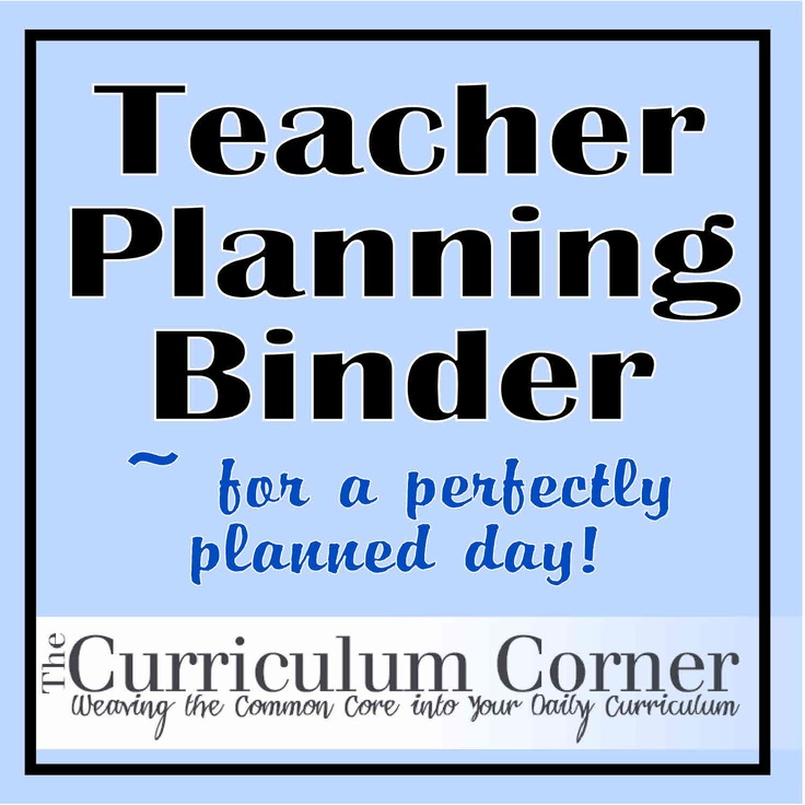 AWESOME website - you can print everything! Make a binder with everything you need for the school year