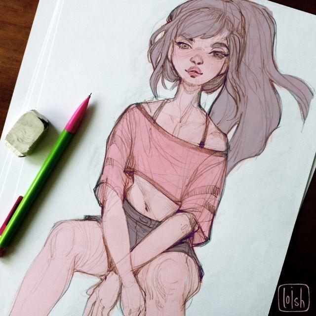 Loish sketch