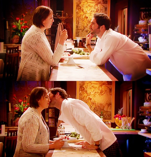 best kiss, love Miranda Hart