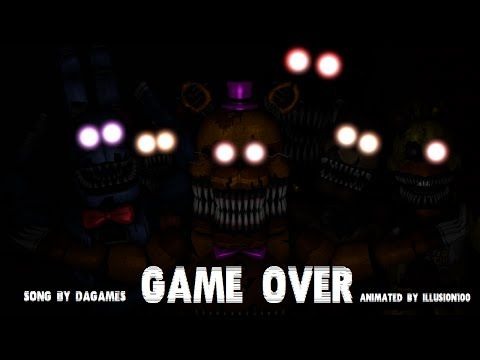 """FNaF 4 Song - """"This Is the End"""" by NateWantsToBattle (Five Nights at Freddy's 4 / FNAF Animated) - YouTube"""