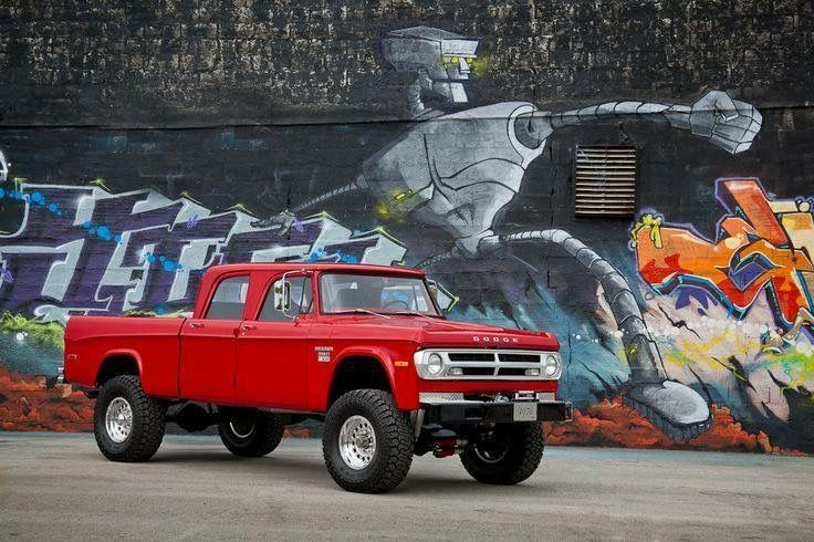 Crew Cab Dodge Power Wagon lifted