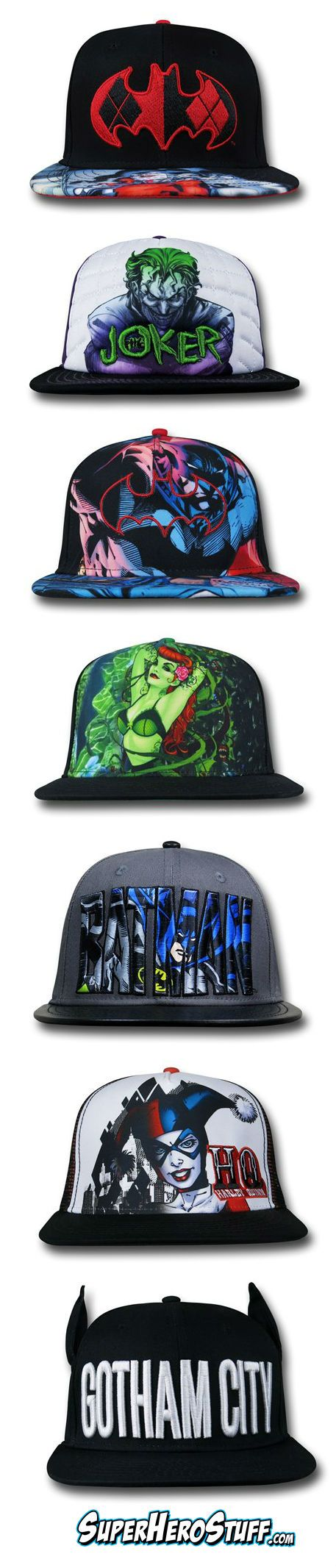 Not New Era but still some pretty Sweet Sublimated Adjustable Batman Hats!