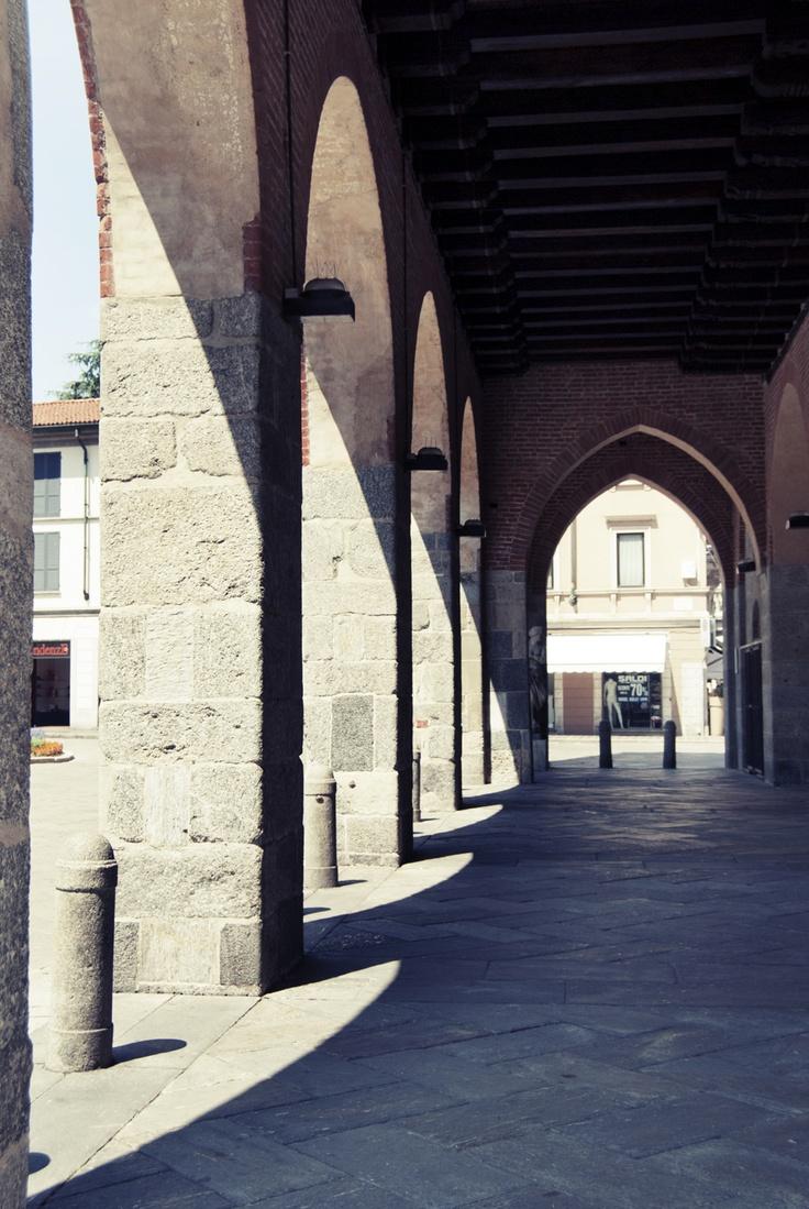 porch of Arengario