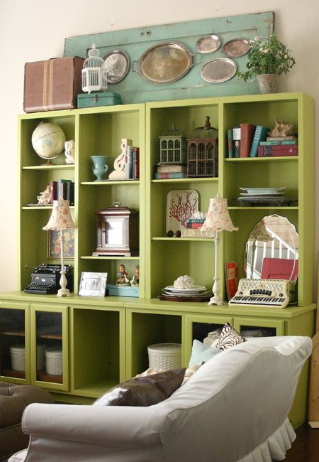 Decorating Tips For Living Room Dining Room Combo: HIGH Five: 5 Tips For Decorating The Tops Of Bookcases And