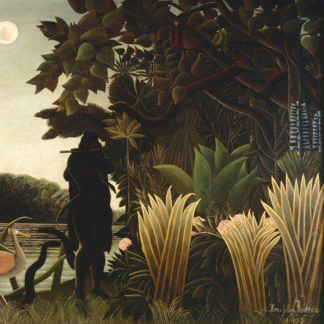 NG Rousseau Ztracený ráj