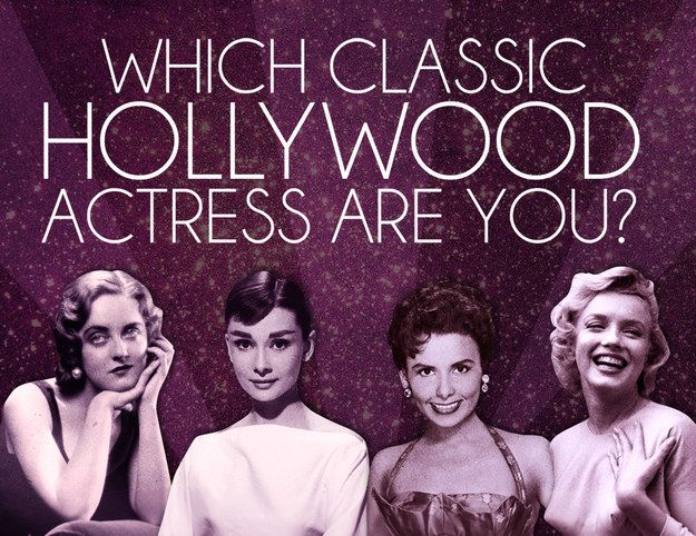 Which Classic Hollywood Actress Are You?