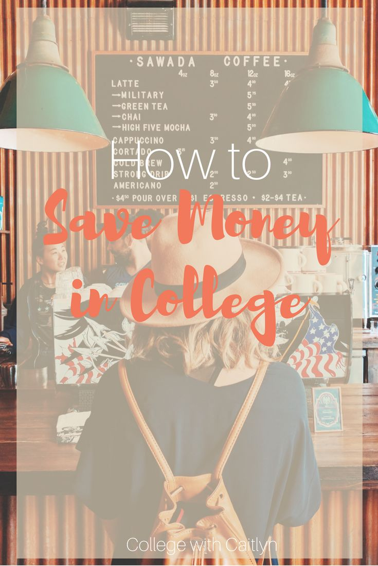 How to Save Money in College | College with Caitlyn