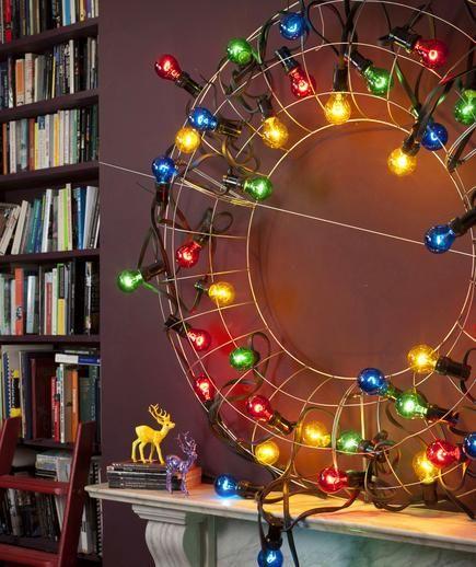 Christmas Decorations With Light Bulbs: 13 DIY Holiday And Christmas Decorations