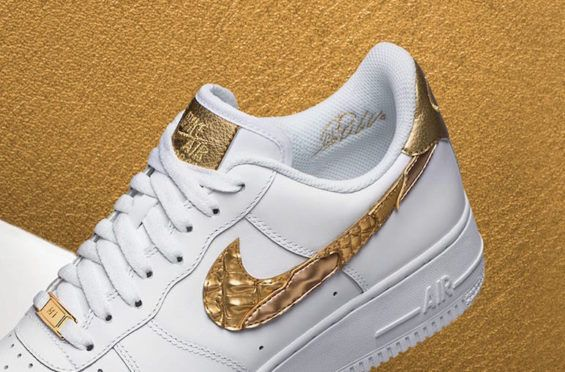 090d83beda8 Release Date  Nike Air Force 1 Low CR7 Golden Patchwork