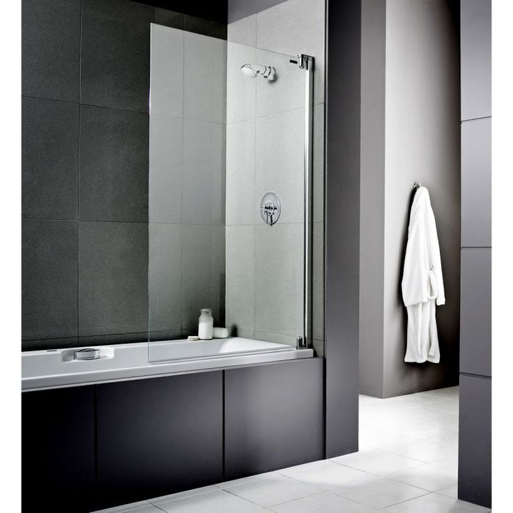The Showerlux Swing Classico Shower Screen. Bath Shower Screens From UK  Bathrooms