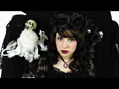 Gotycka lolita transformacja | suzanne marie - YouTube
