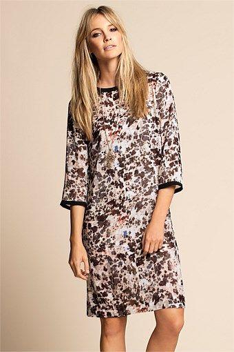 Women's Dresses - Emerge Printed Dress - EziBuy Australia