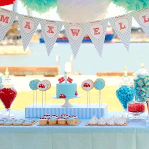 Deco google and fiestas on pinterest - Adornos cumpleanos infantiles ...