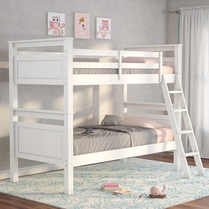 Jalyn Twin Over Twin Bunk Bed Twin Bunk Beds Bunk Beds Bunk