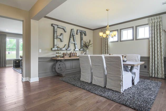 The Reserve At Liberty Park | Braselton, GA | Baker Model Dining Area | Fischer Homes
