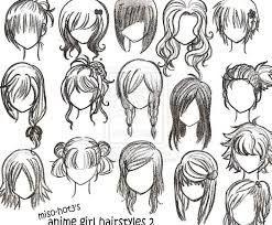 woman haircut illustration - Google zoeken