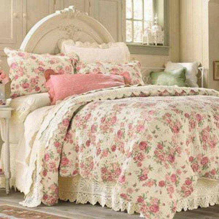 Shabby Chic Bedding: French Shabby Chic Bedding