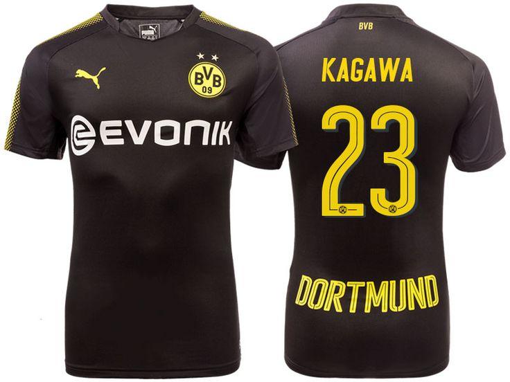 Borussia Dortmund 2017-18 Away Shirt shinji kagawa