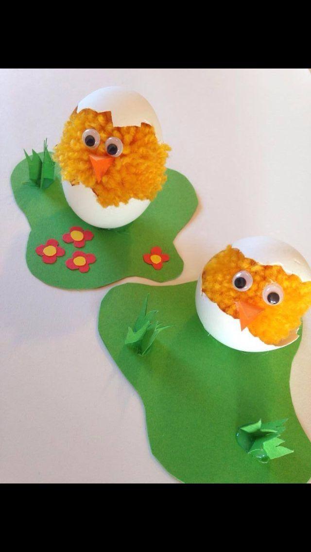 DIY påske kyllinger