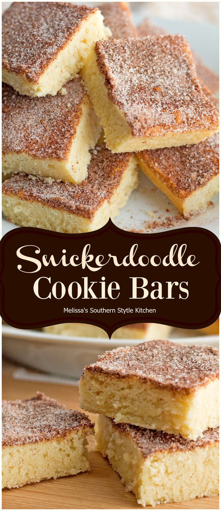 Snickerdoodle Cookie Bars