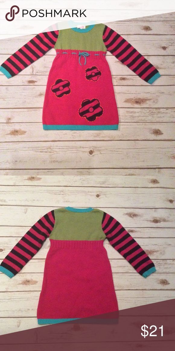 Chelsea's Corner Girls Sweater Dress 5-6 Chelsea's Corner Girls Multi Color Sweater Dress Size Medium 5-6.  Material is 60% Cotton, 40% Acrylic. Machine Wash Cold. 🚫NO TRADES🚫 A2 Chelsea's Corner Dresses Casual