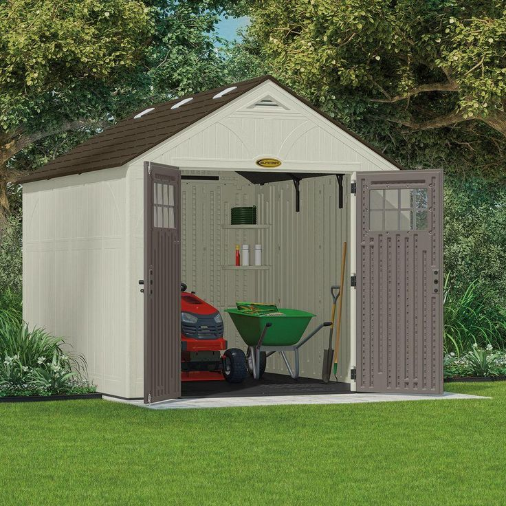 25 best ideas about suncast storage shed on pinterest for Resin garden shed