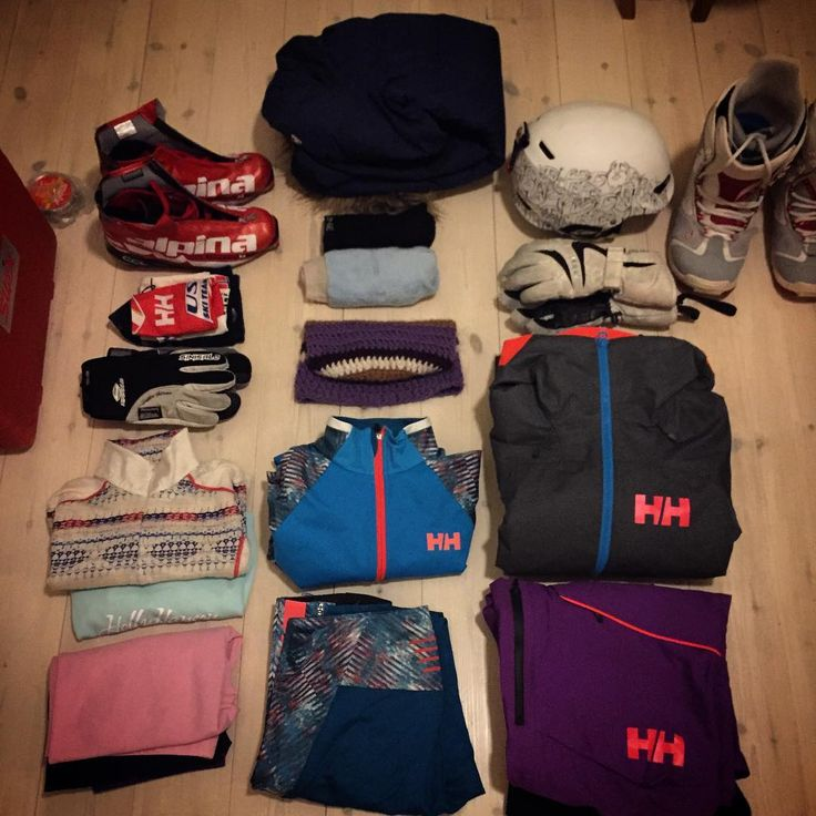 This is the way to pack.  Nice and orderly with all the sports gear organized!  Photo by @ nindir